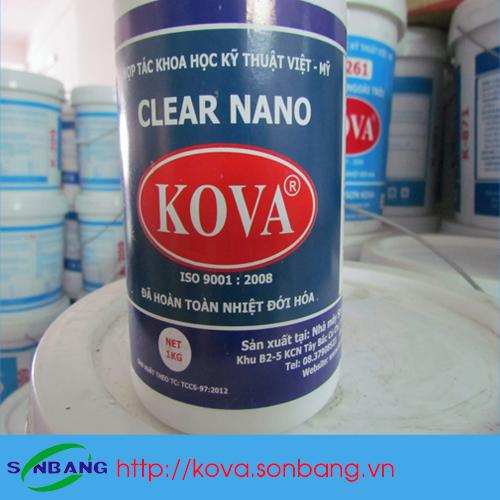 Keo bóng nước clear Nano-E3