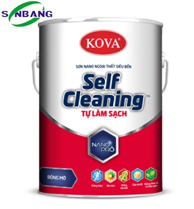 Sơn Self- Cleaning tự làm sạch - Bóng mờ