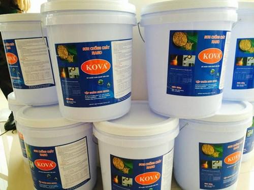 Keo bóng nước Clear W thùng 4kg