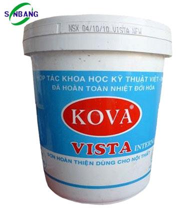 Sơn nước trong nhà VISTA - trắng thùng 25kg