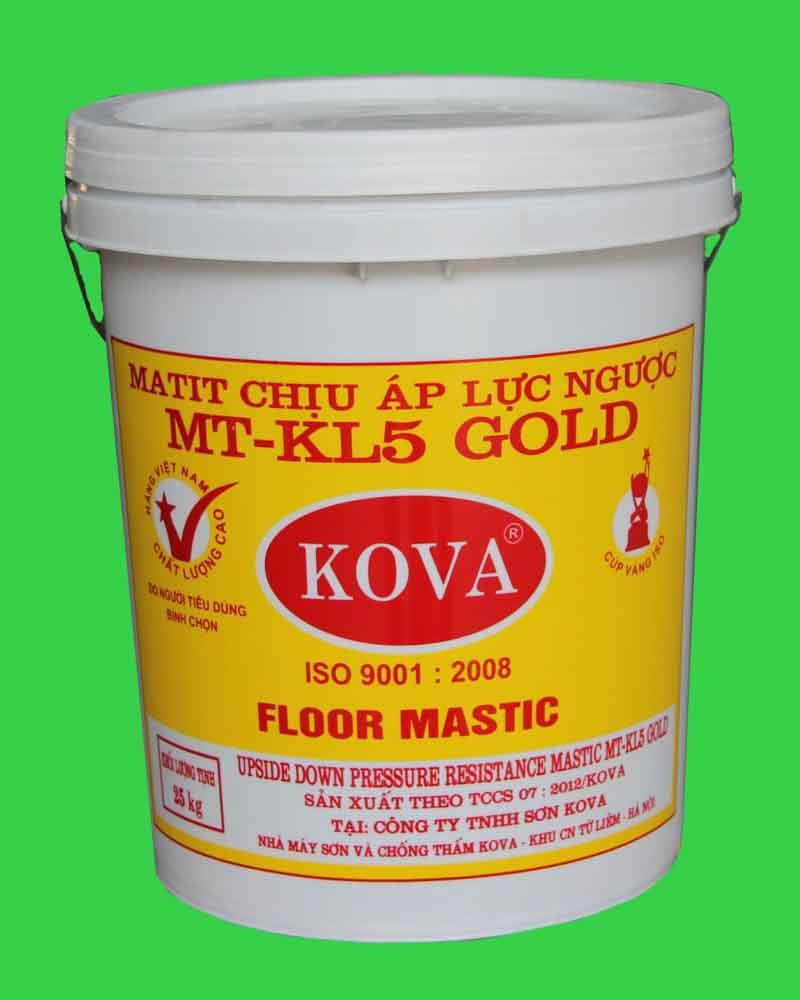 Mastic KL - 5 sàn (sơn công nghiệp)